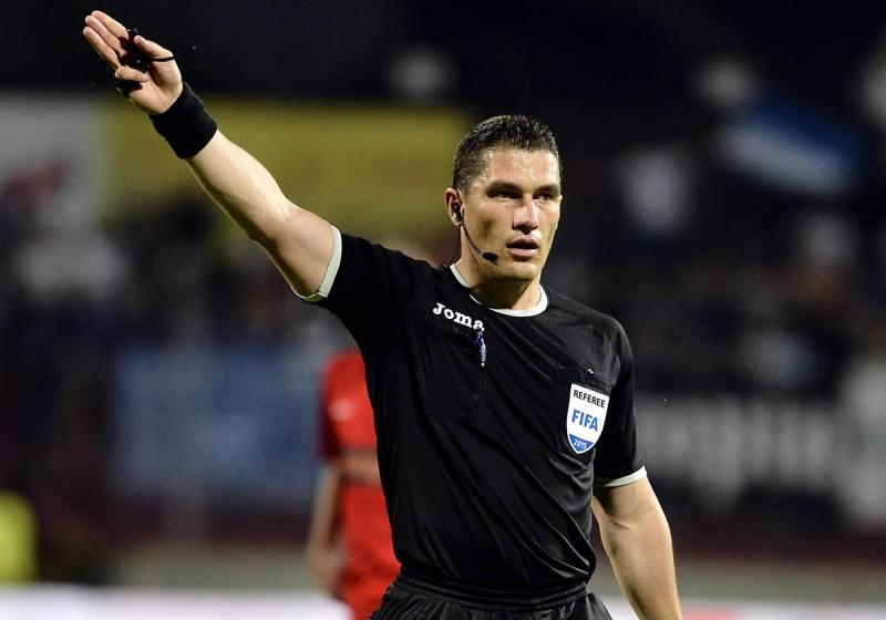 Kovács István, arbitru (Foto: Răzvan Păsărică - frf.ro)