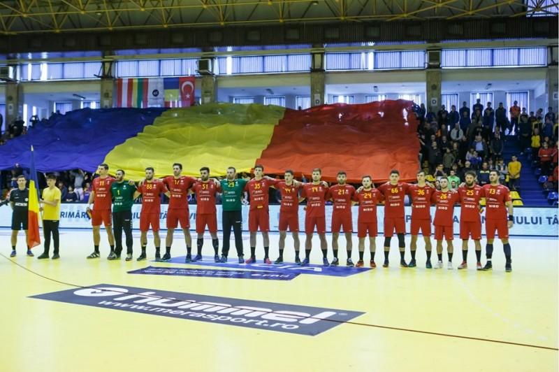 România, handbal masculin (Sursa foto: facebook.com - FRH - Federația Română de Handbal)