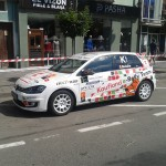 Super Rally Tg-Mureș, Mihai Beldie, VW Electric (Septimiu Cioloboc)