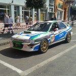 Super Rally Tg-Mureș, Vlad Cosma, Subaru Impreza (Septimiu Cioloboc)