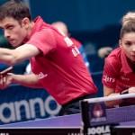 Szöcs Bernadette și Ovidiu Ionescu, tenis de masă dublu mixt (Sursa foto: tv.ittf.com)