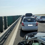 autostrada Soarelui trafic aglomerat circulatie