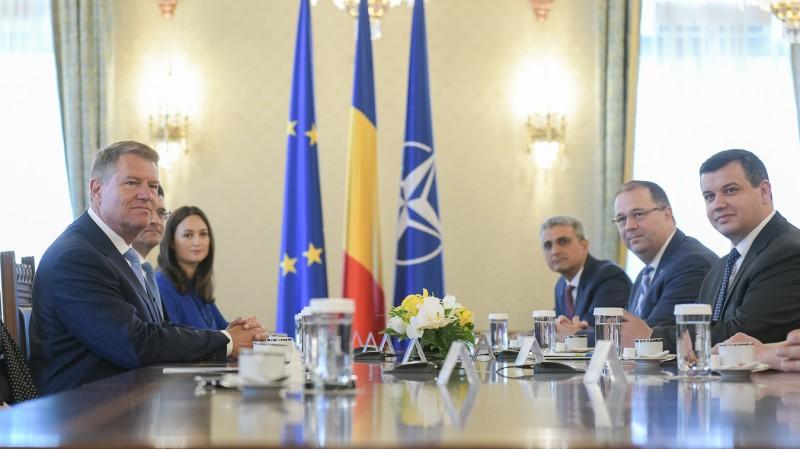Consultări PMP (Sursa foto: presidency.ro)