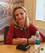 Carmen Pintea, ofițer psiholog la Agenția Națională Antidrog, Centrul Regional Mureș (Foto: Radio Tg.Mures/ Emanuela Barabas)