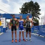 Andrey Bryukhankov - RUS , Filipe Azevedo - POR, Domen Dornik - SLO Foto: Transilvania 2019 Multisport European Championships/facebook
