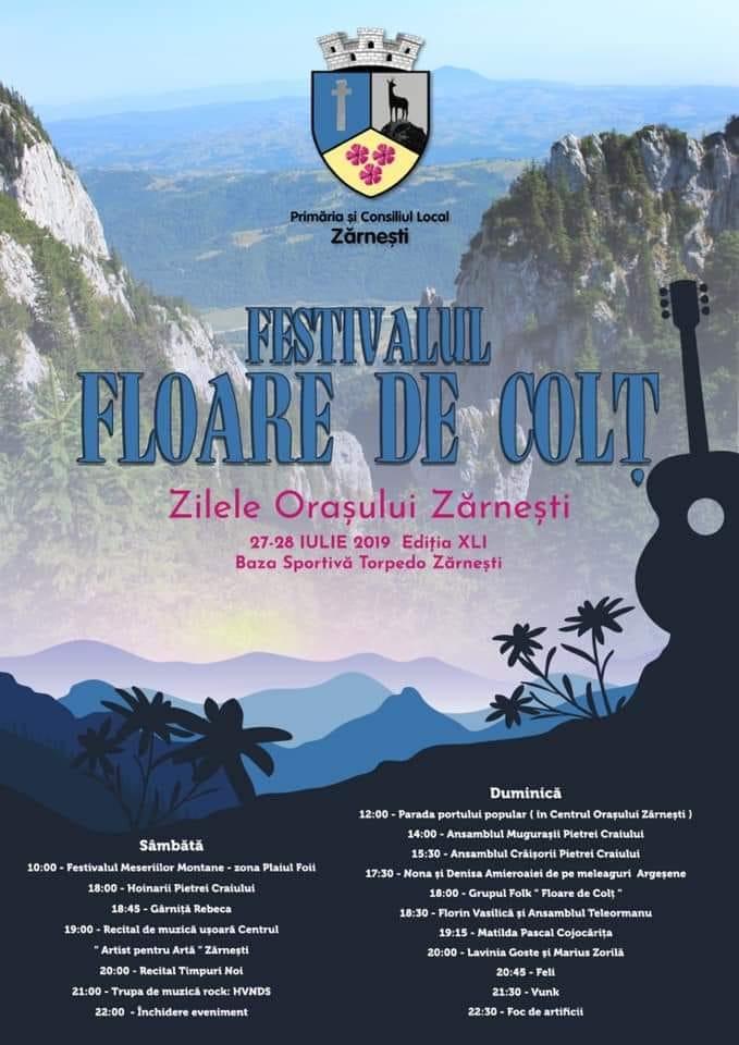 Festivalul Floare de Colţ la Zărnești