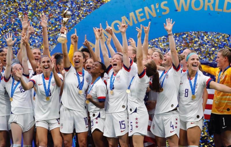SUA, fotbal feminin, campioana lumii 2019 (Foto: Alex Morgan, by twitter.com - FIFA)