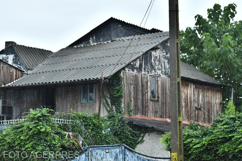 Casa criminalului Gheorghe Dinca