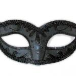 masca-de-carnaval-neagra