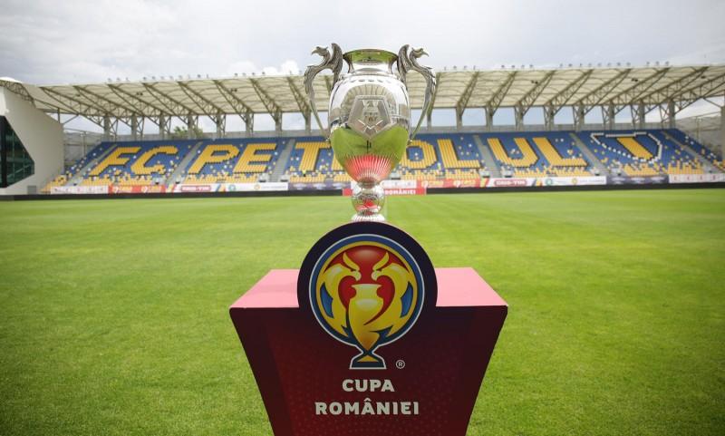 Cupa României la fotbal, trofeul - la Ploiești (Sursa foto: cuparomaniei.frf.ro)