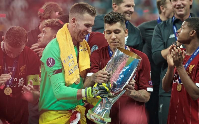 FC Liverpool, câștigătoarea Super Cupei Europei 2019 (Sursa foto: theanfieldwrap.com)