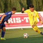 România - Cipru 4-1, fotbal U 16, Gabriel Plumbuitu, nr. 11 (Sursa foto: frf.ro)