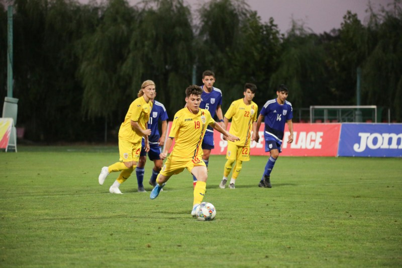 România - Cipru, fotbal U 16 (Sursa foto: frf.ro)