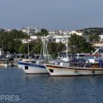 GRECIA-Imagine din portul Kamariotissa-Samothrak