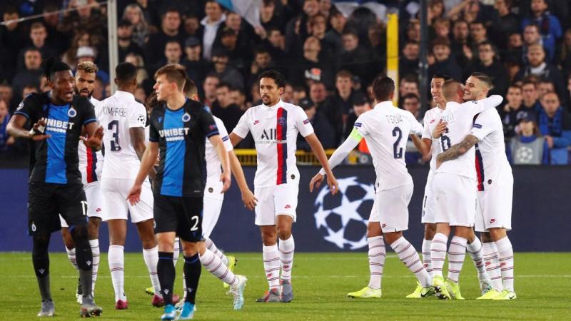 FC Bruges – Paris Saint-Germain 0-5 (Foto: AFP)