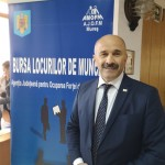 Directorul AJOFM Mureș, Gheorghe Ștef (Foto: Radio Tg.Mures/ Cristina Bulbescu)