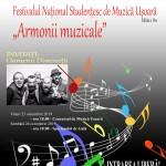 afis - Festival Studentesc Muzica Armonii Muzicale 2019