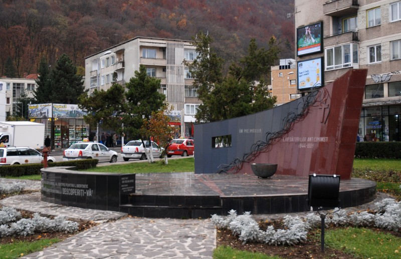 Monumentul ''Luptători Anticomuniști'' din Brașov (Sursa foto: ro.wikipedia.org)
