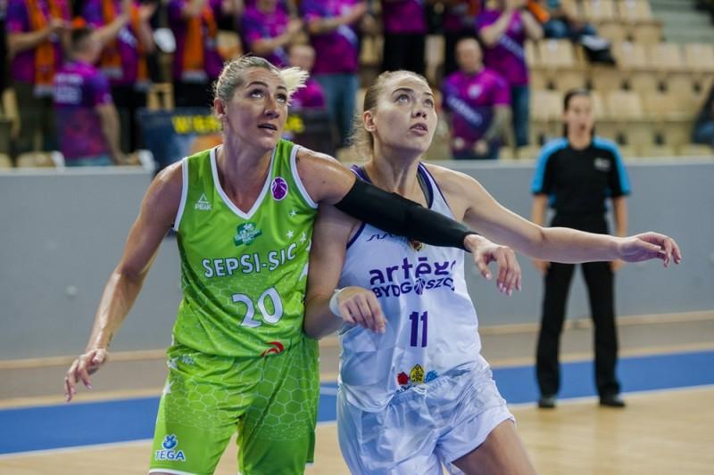 ACS Sepsi Sic Sfântu Gheorghe - Artego Bydgoszcz 50-76, baschet feminin (Sursa foto: fiba.basketball)