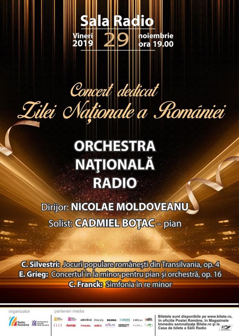 Afis 28 nov Ziua Nationala a Romaniei