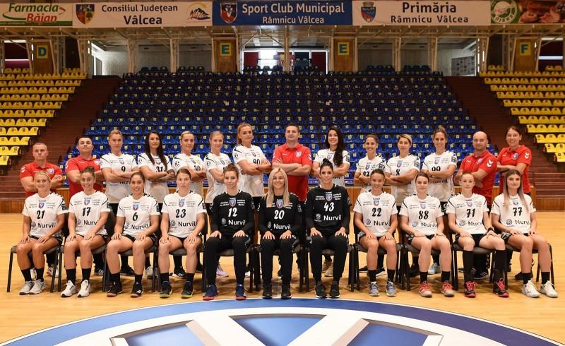 SCM Râmnicu Vâlcea, handbal feminin (Sursa foto: ehfcl.com)