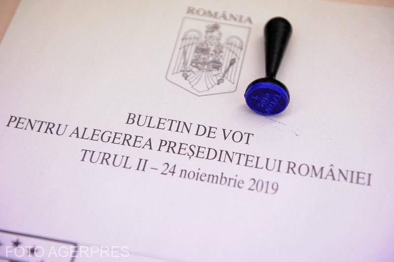 buletin de vot turul 2 alegeri prezidentiale 2019 agerpres_13272722