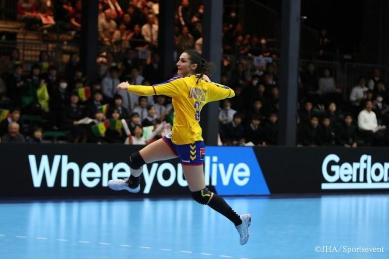 România, handbal feminin, Maria-Mădălina Zamfirescu (Foto: JHA - Sportsevent, by ihf.info)