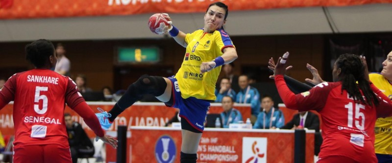 Senegal – România 24-29, handbal feminin, Cristina Neagu (Foto: Japan 2019, by ihf.info)