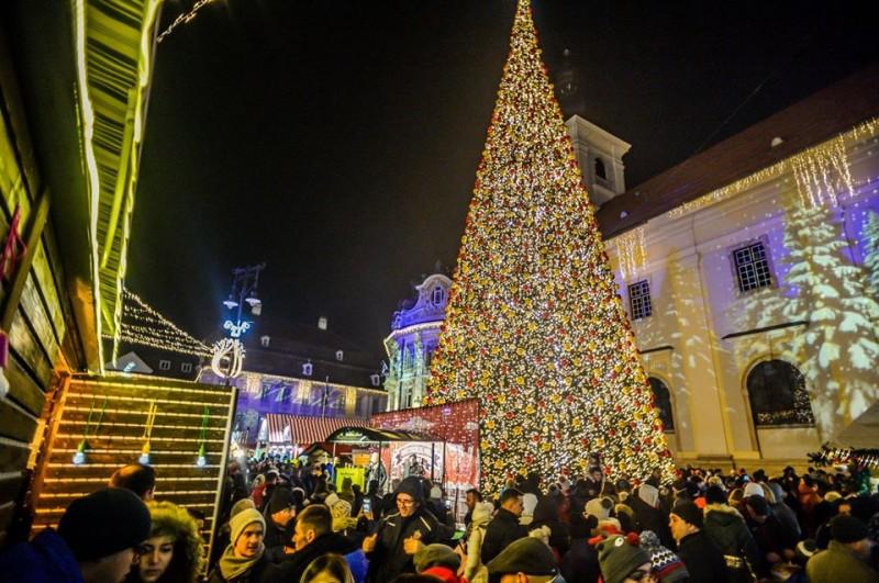 Foto Targul de Craciun din Sibiu/facebook