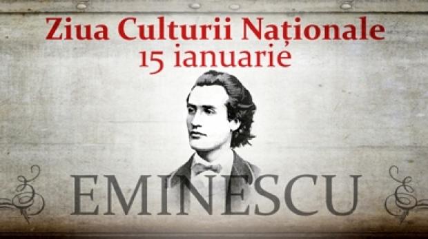 15 ianuarie - Ziua Culturii Naţionale (m