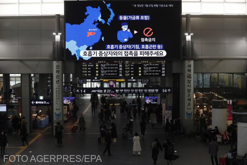 Prophylaxis treatment against coronavirus outbreak, in South Korea