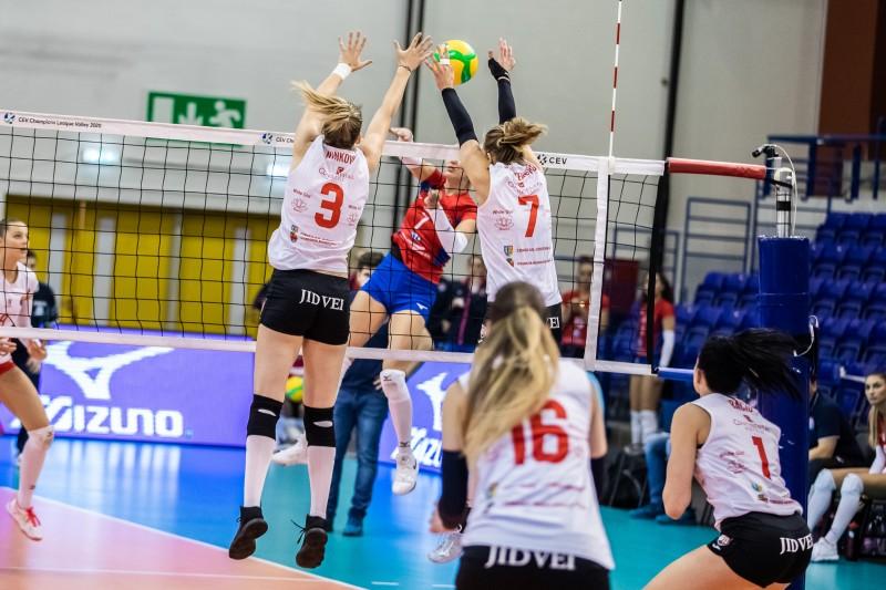Volei Alba Blaj, volei feminin (Sursa foto: cev.eu)