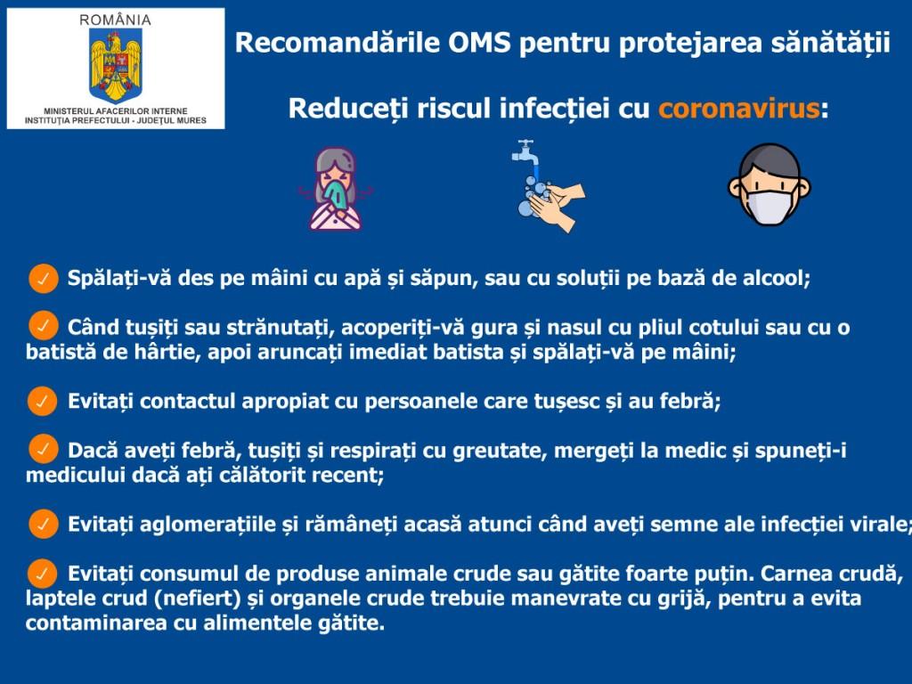 recomandari OMS 1