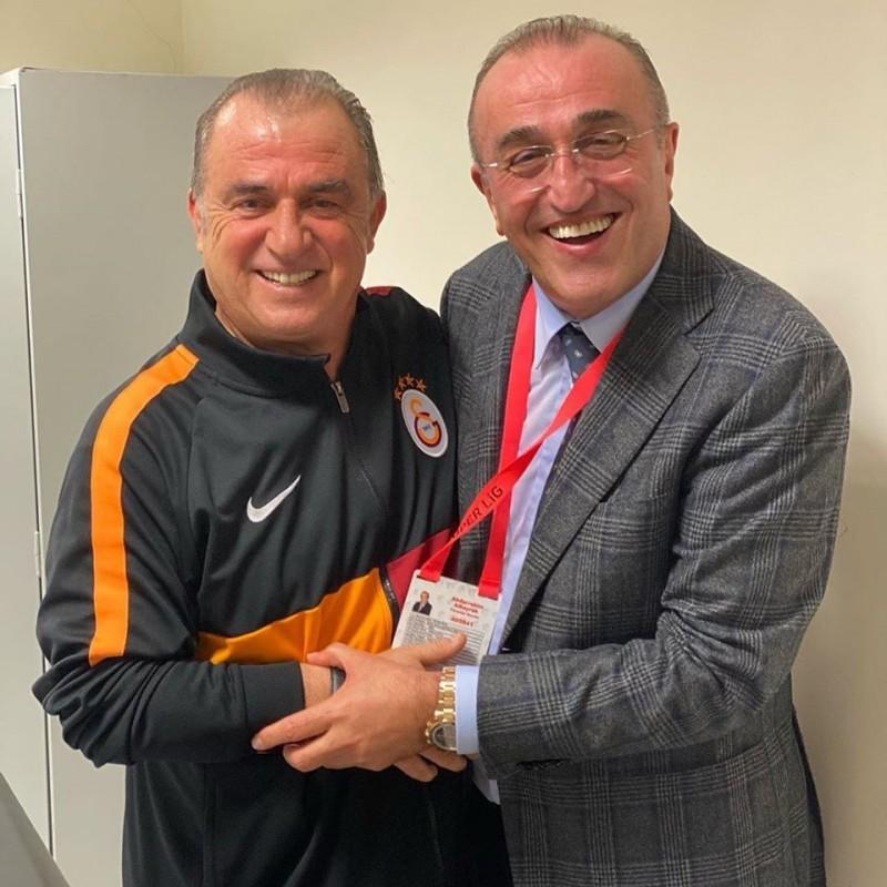 Fatih Terim & Abdurrahim Albayrak (Sursa foto: facebook.com - Galatasaray)