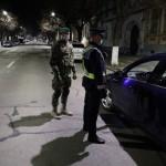 militar politie control