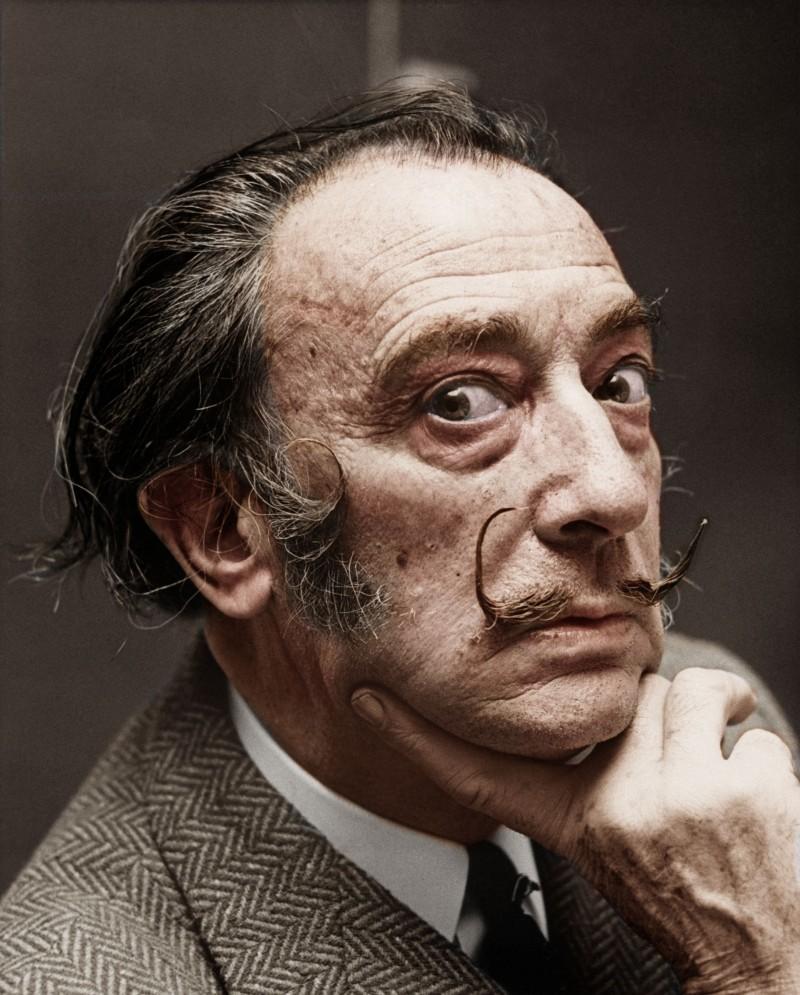 Salvador Dalí, pictor, grafician şi poet spaniol (Sursa foto: pinterest.com.mx)
