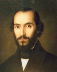 29 iunie 1819 - Nicolae Bălcescu, istoric și revoluționar român. Tablou de Gheorghe Tattarescu, în 1851 (balcescuint.licee.edu.ro, by upload.wikimedia.org)