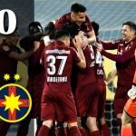 CFR Cluj - FCSB 1-0 (captura youtube.com)