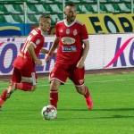 : Sepsi OSK Sfântu Gheorghe, Radoslav Dimitrov, Marius Ștefănescu (Sursa foto: facebook.com - Sepsi OSK)
