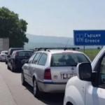Coloană de autovehicule de patru kilometri la punctul de frontieră Kulata dintre Bulgaria şi Grecia