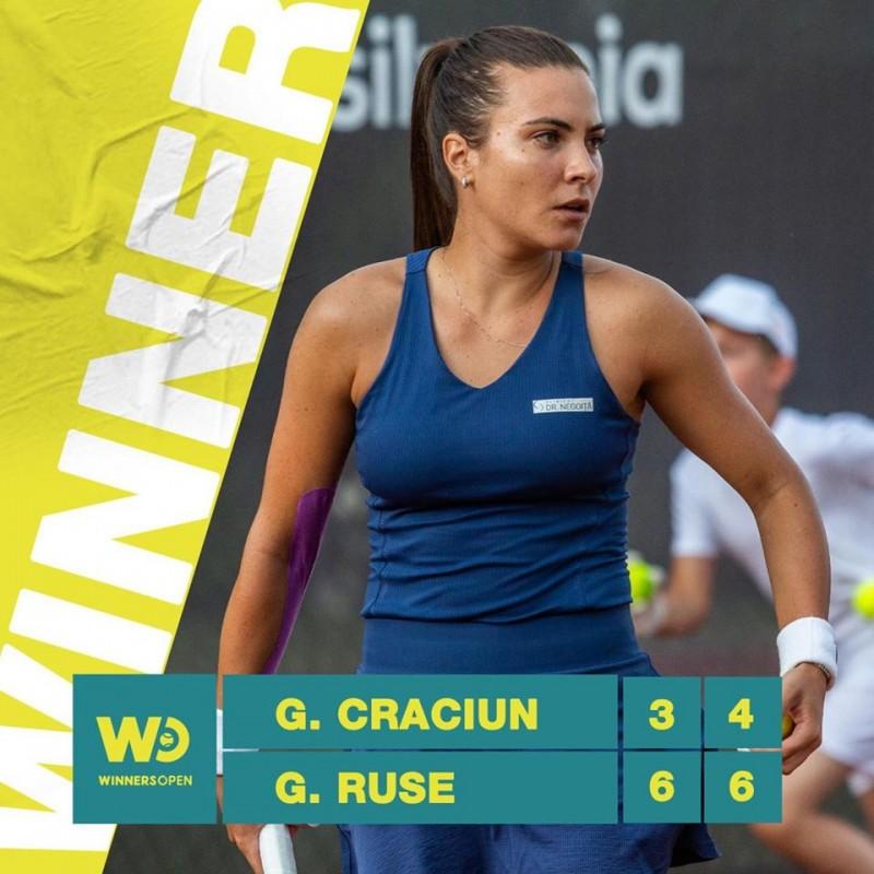 Gabriela Ruse la Winners Open (Sursa foto: facebook.com - Winners Sports Club Cluj-Napoca)