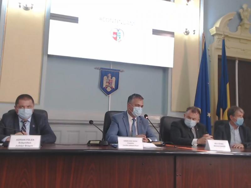 Sursa foto: captură video Consiliul Județean Brașov
