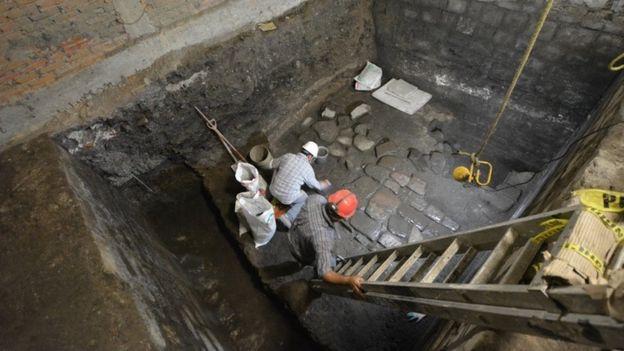 Foto: Institutul Național de Antropologie și Istorie din Mexic (INAH)
