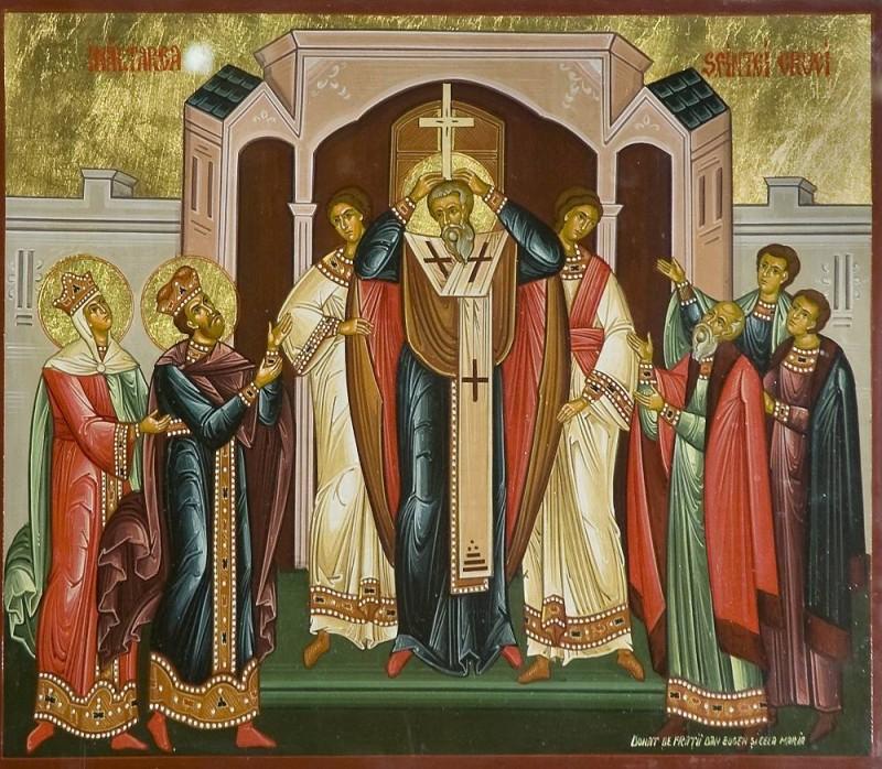 Înălţarea Sfintei Cruci (Sursa foto: crestinortodox.ro)