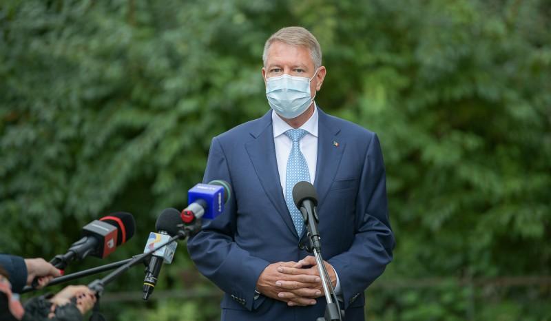 Klaus Iohannis vizita la INSP