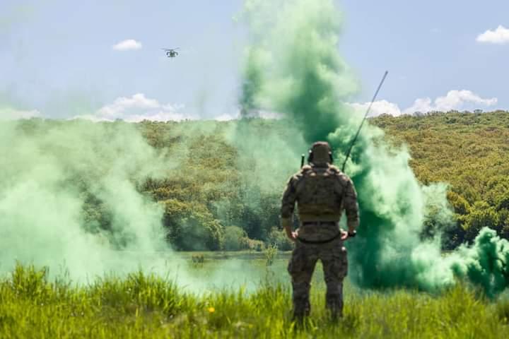 Exercitiu militar la Lapusna