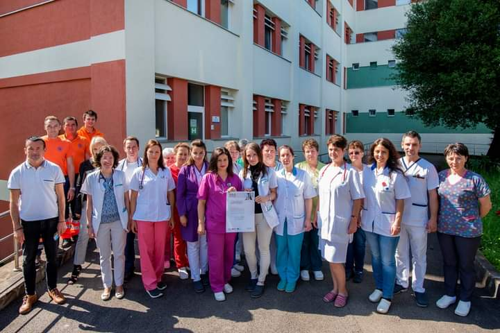 Covasna: Spitalul Judeţean, premiat pentru rapiditatea şi calitatea îngrijirii pacienţilor cu accidente vasculare cerebrale