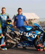 Suzuki Moto Racing Team - Philippe, Black, Saulnier & Masson